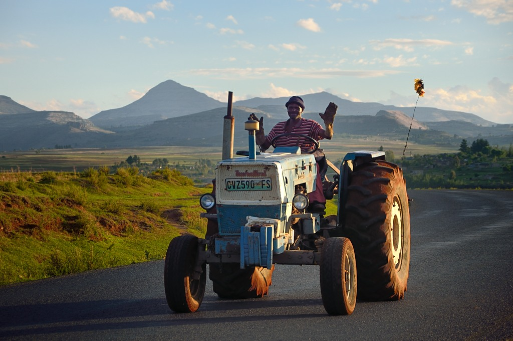 Лесотский тракторист