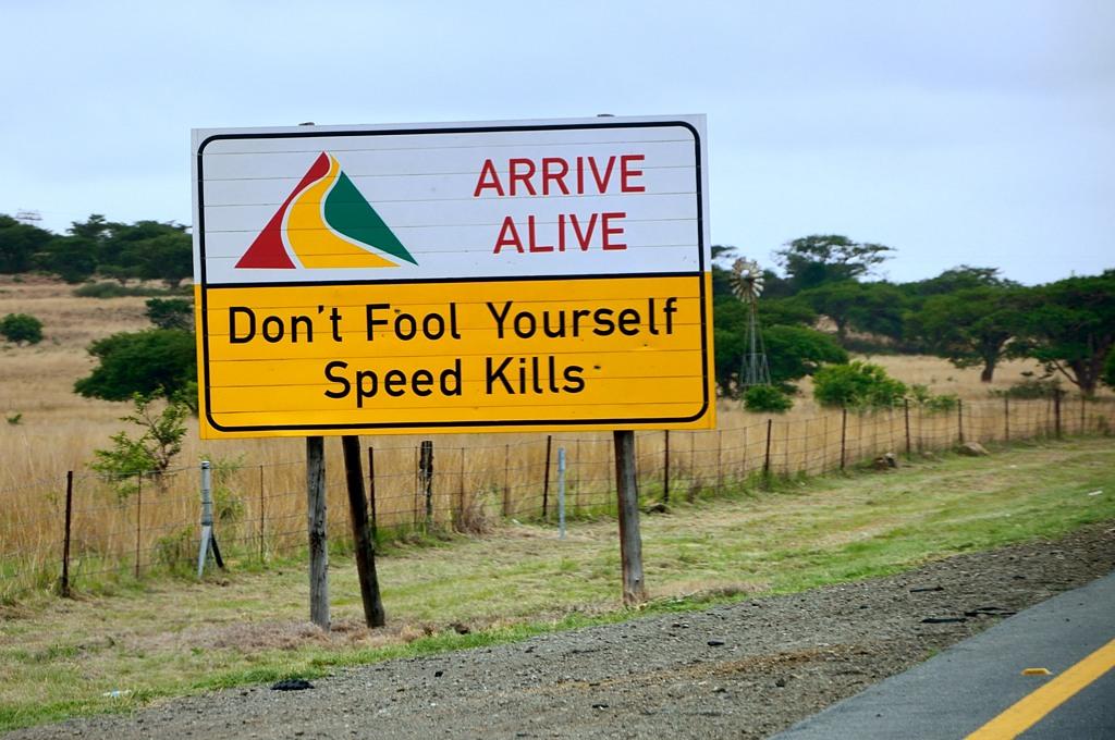Не обманывай себя - скорость убивает