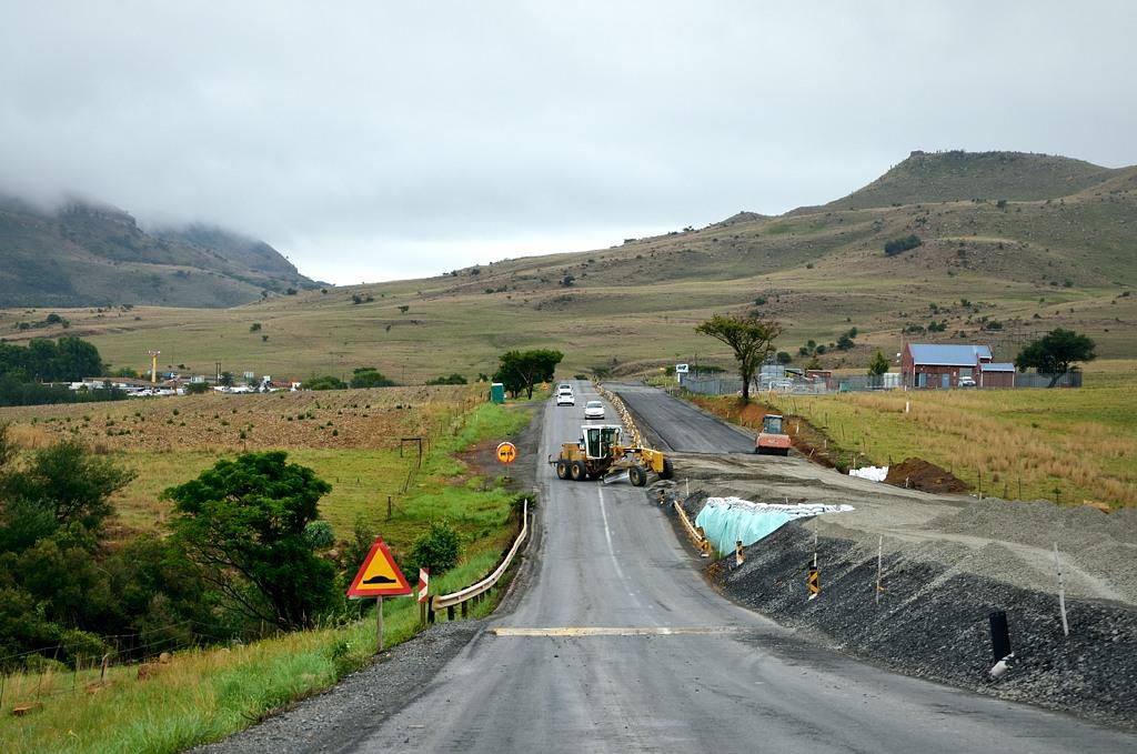 Снова ремонт дороги