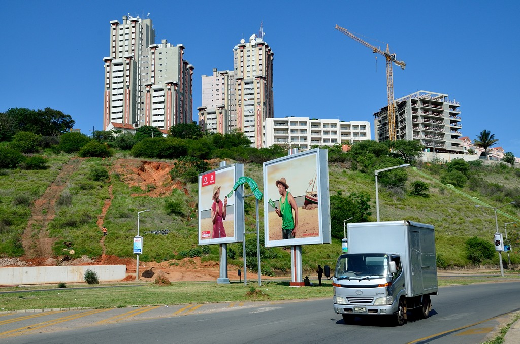 """Активно строится недвижимость для """"новых мозамбикцев"""""""