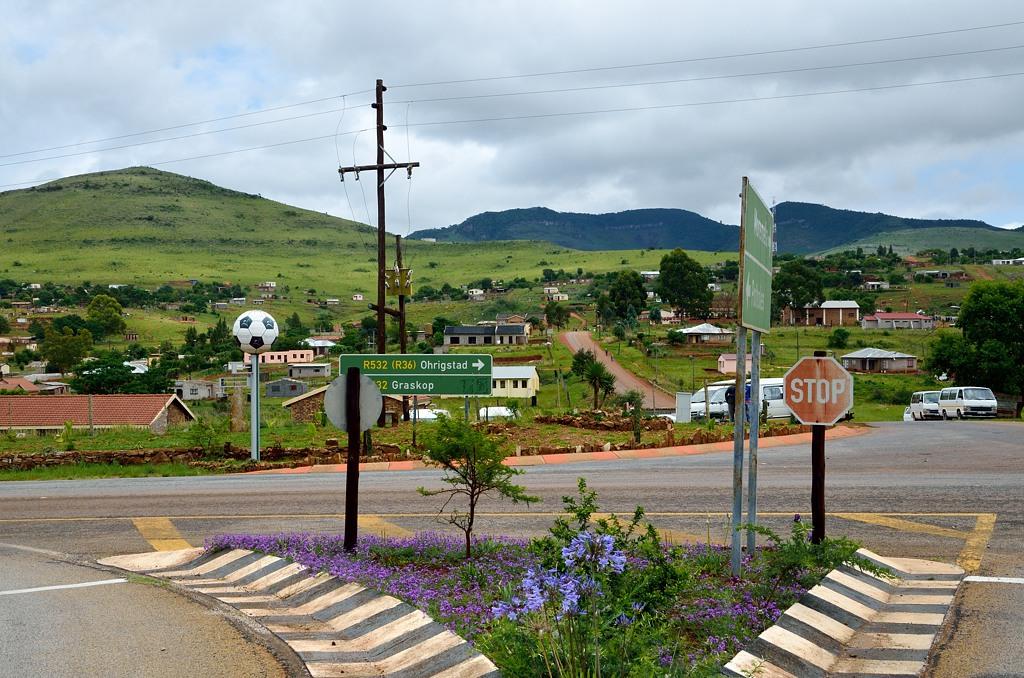 Местный городок