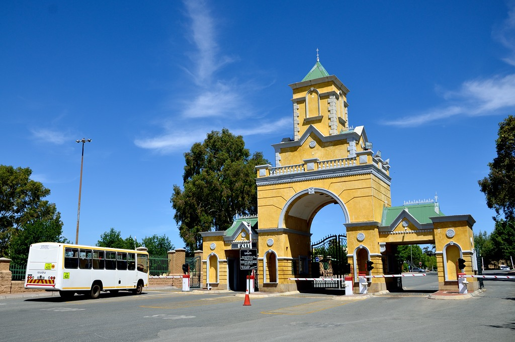 Ворота парка Gold Reef City