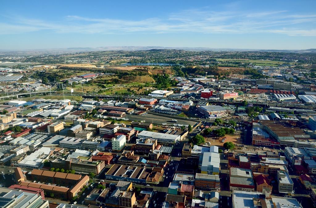 Вид на город с башни Carlton Centre