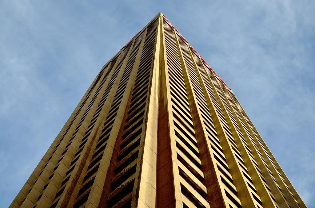 Carlton Centre, вид снизу