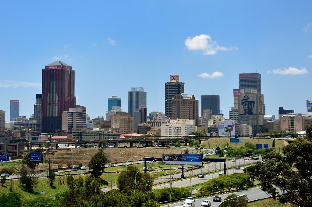 Даунтаун Йоханнесбурга не такой уж и большой