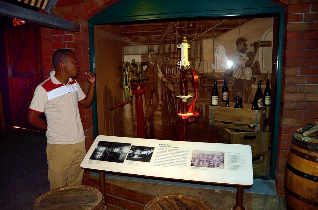 В музее пивоварения