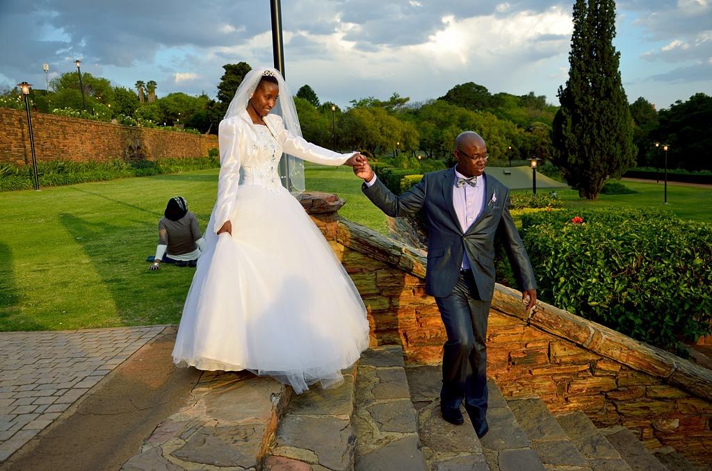 Южноафриканская свадьба