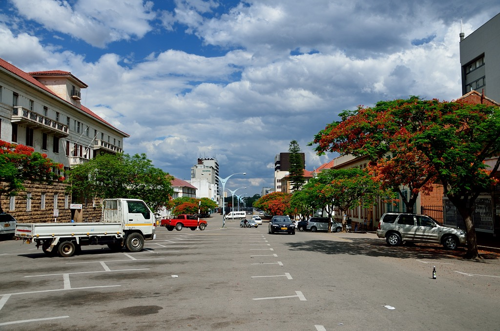 Широкие проспекты Булавайо