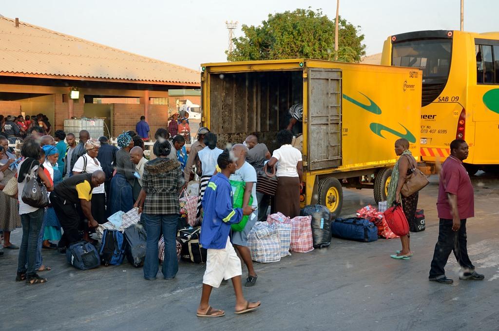 На границе ЮАР и Зимбабве