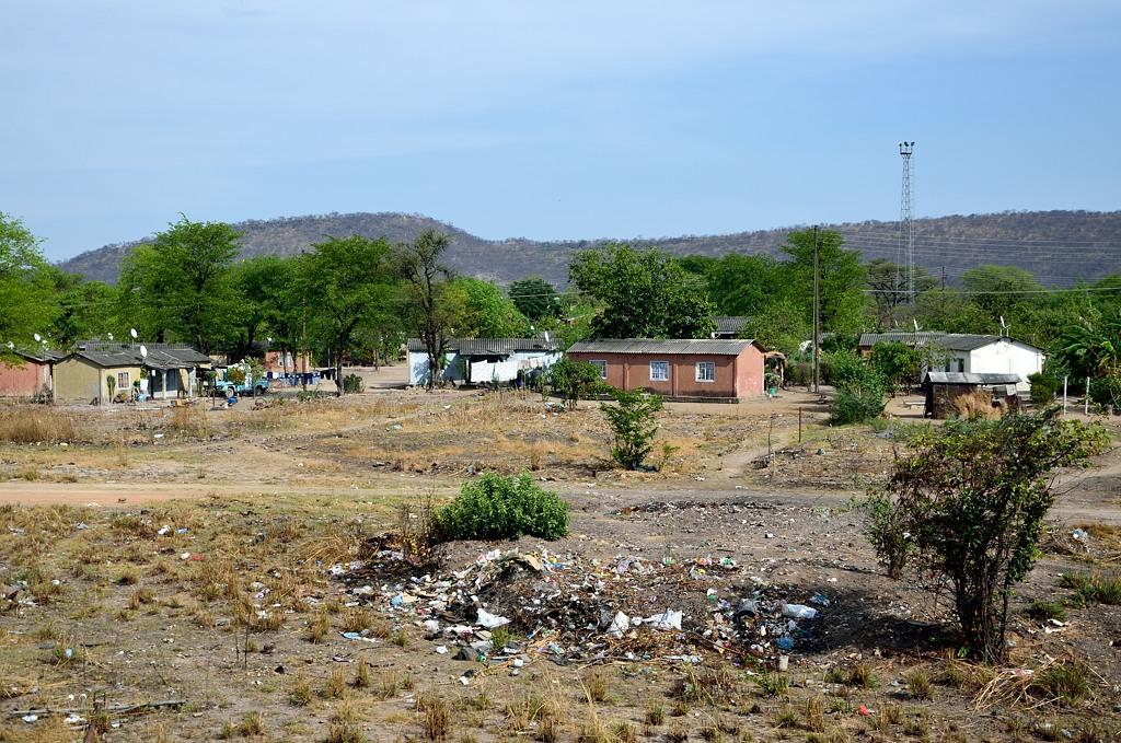 Типичное зимбабвийское поселение