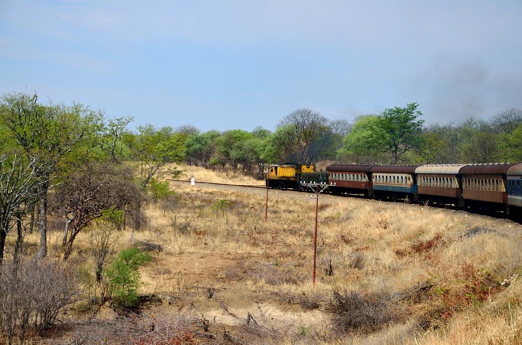 Наш поезд продолжает путь на север