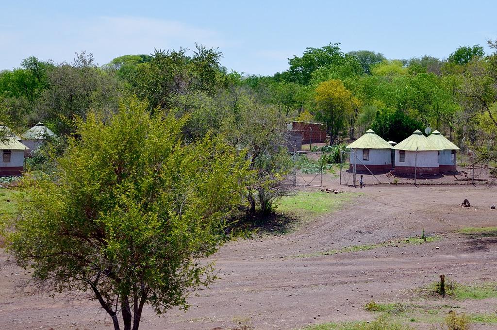Домики в африканском стиле