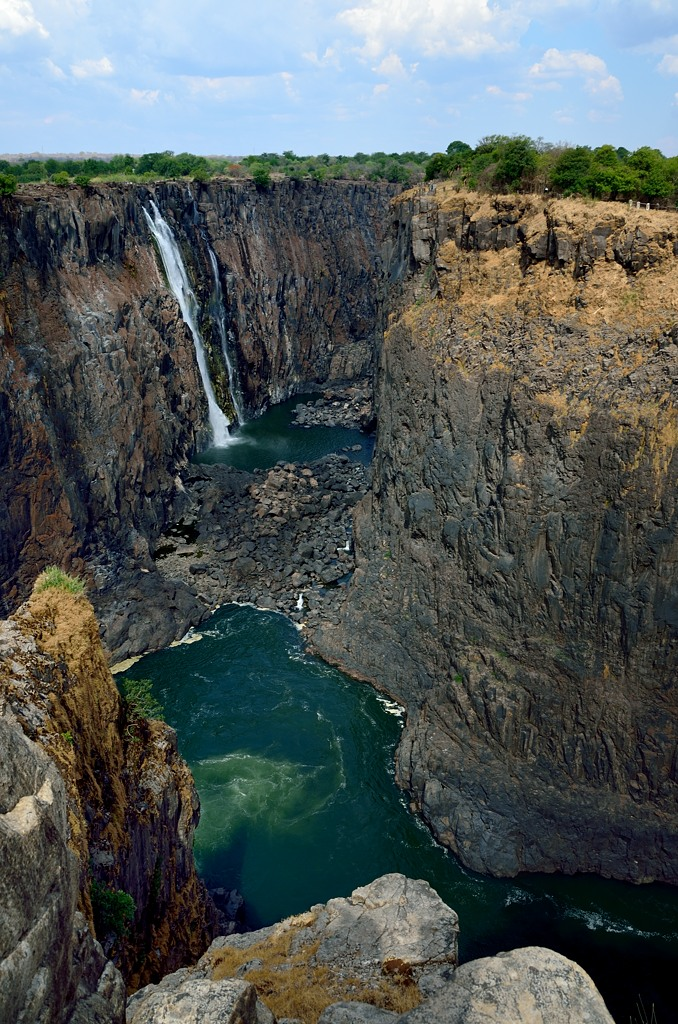 Вид на каньон
