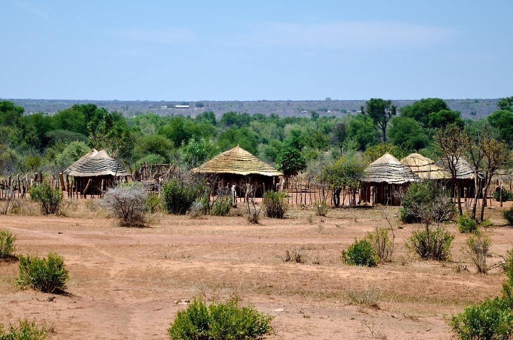 Зимбабвийская деревня