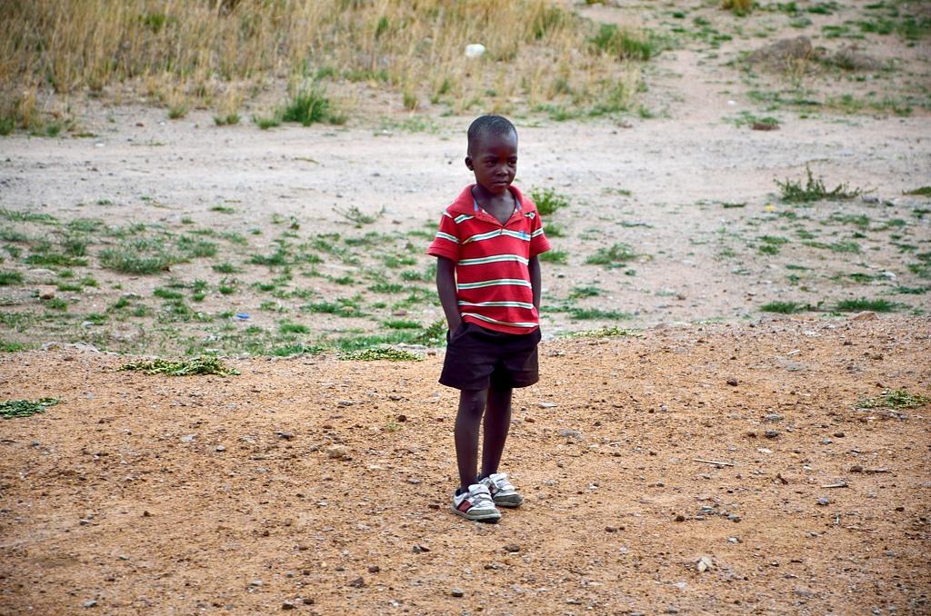 Зимбабвийский мальчик