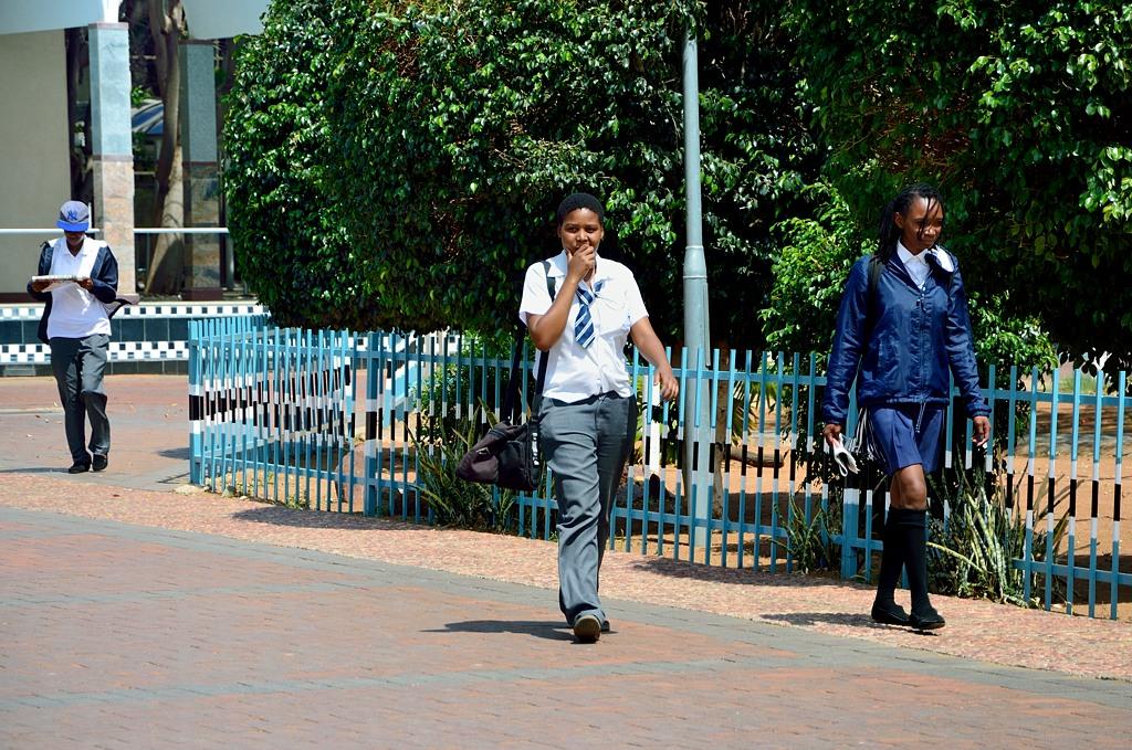 Ботсванские школьники