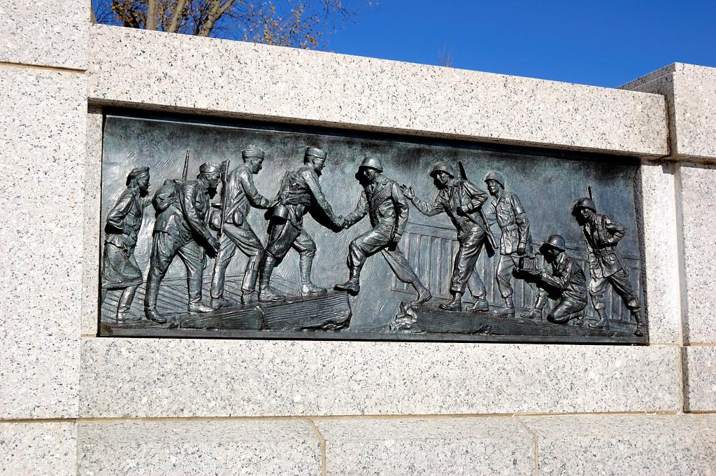 Мемориал Второй Мировой Войны. Встреча на Эльбе