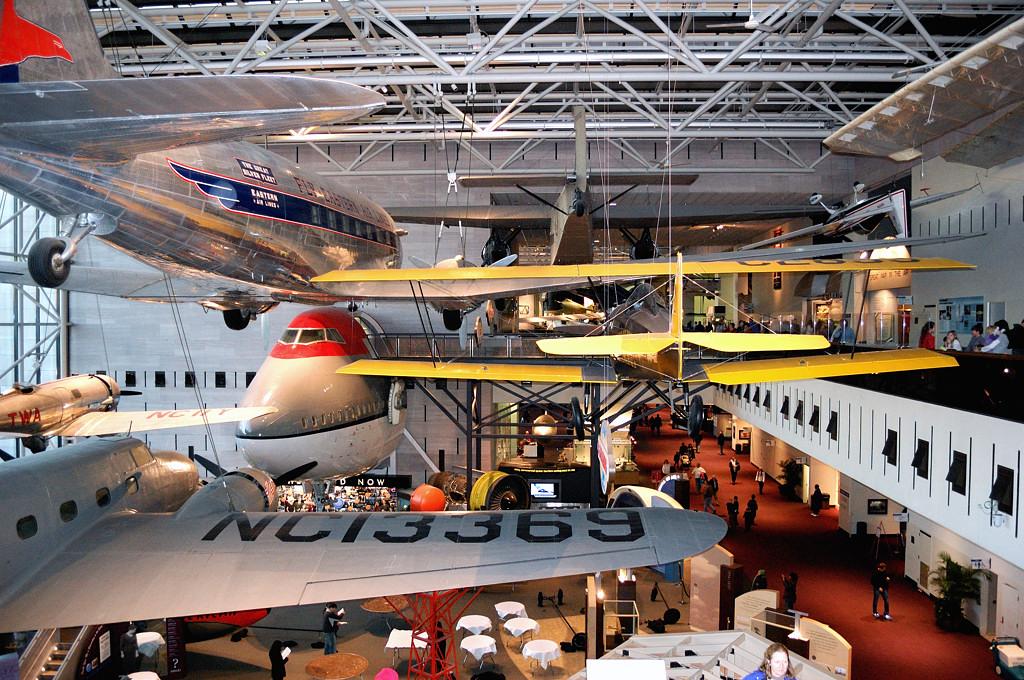 В Музее Авиации и Космонавтики