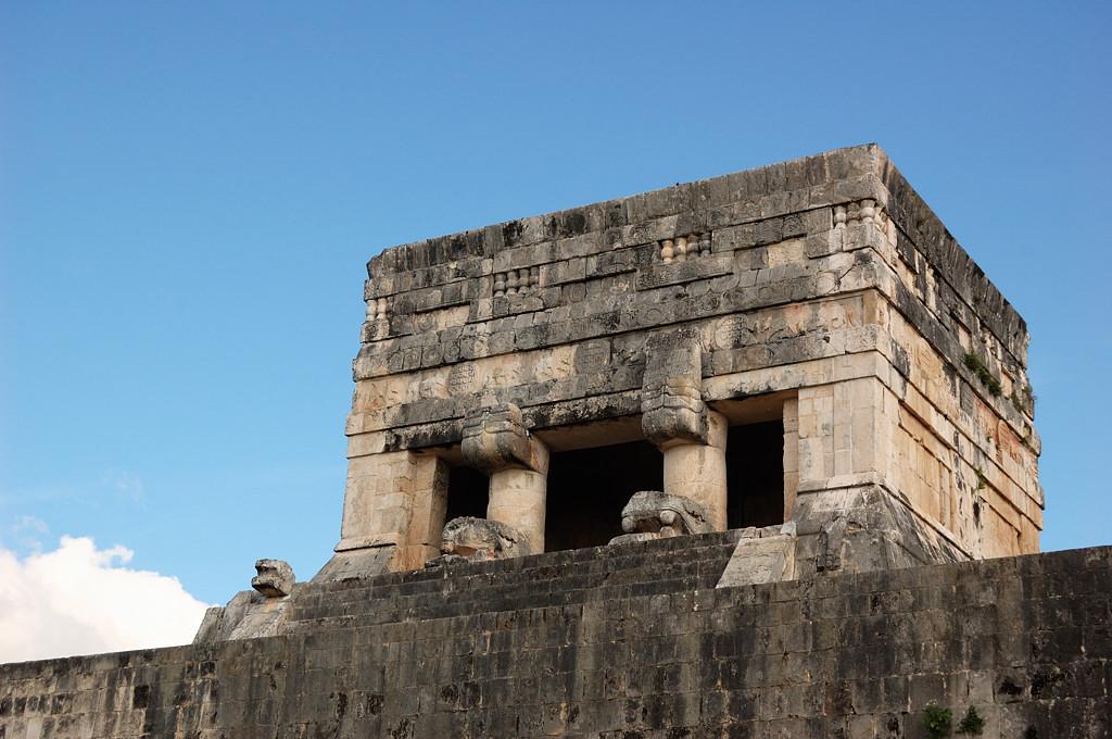 Чичен-Ица. Постройки майя