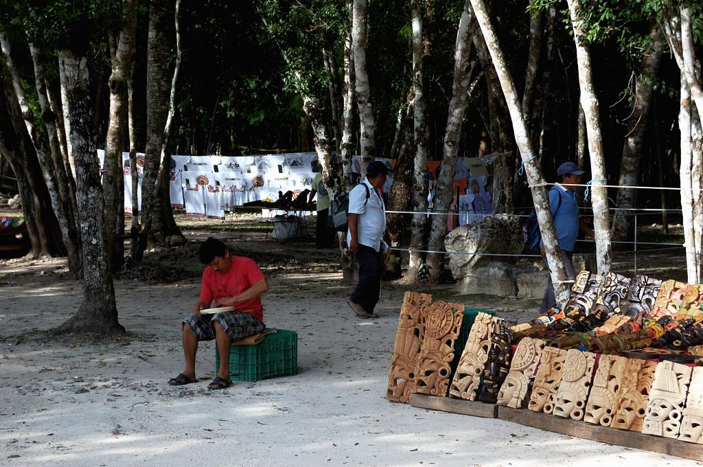 Торговля деревянными масками