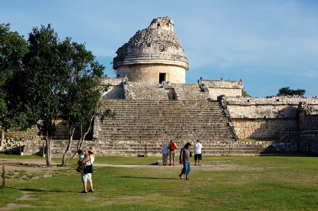 Чичен-Ица. Древняя обсерватория El Caracol
