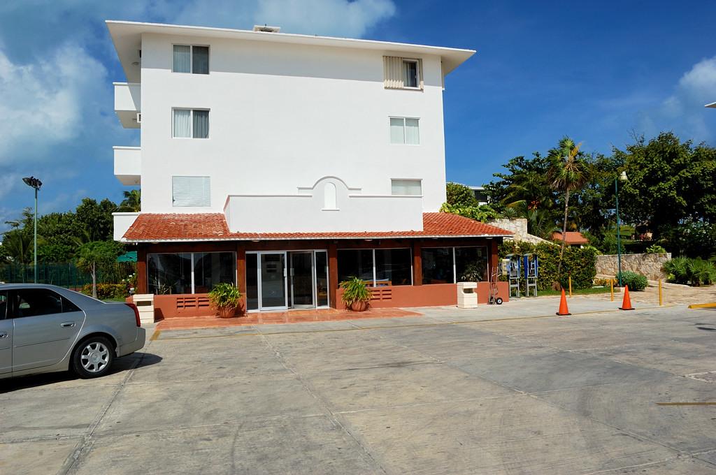 Канкун. Гостиница Dos Playas