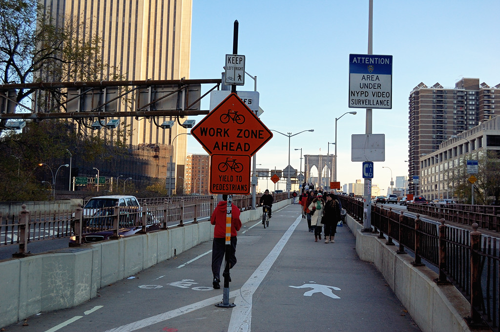 Бруклинский мост. Променад