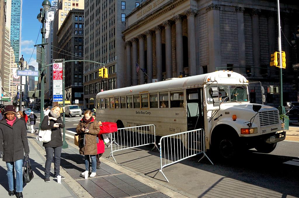 На улицах Манхэттена