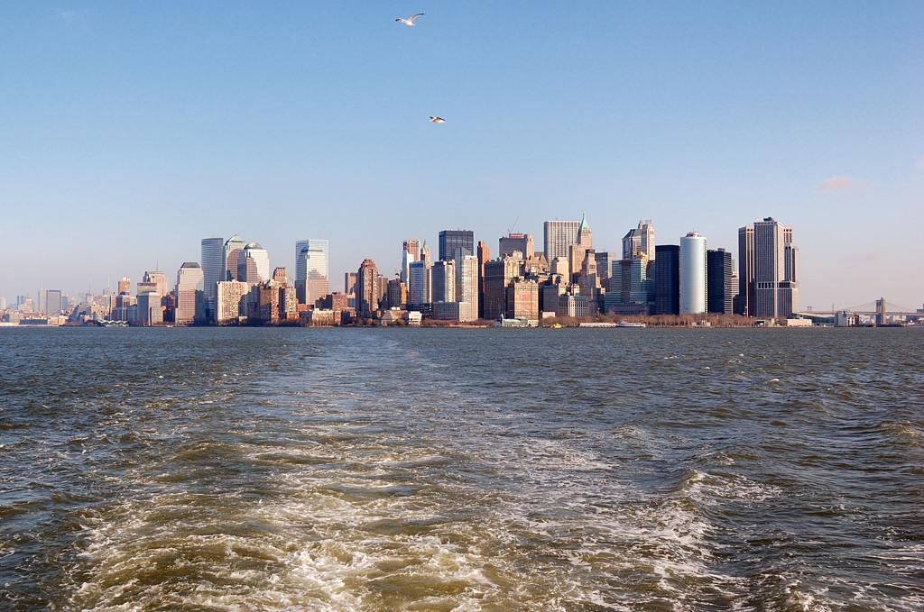 Вид на Манхэттэн