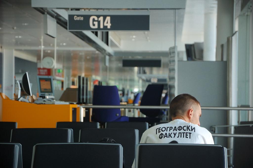 Пересадка в аэропорту Мюнхена