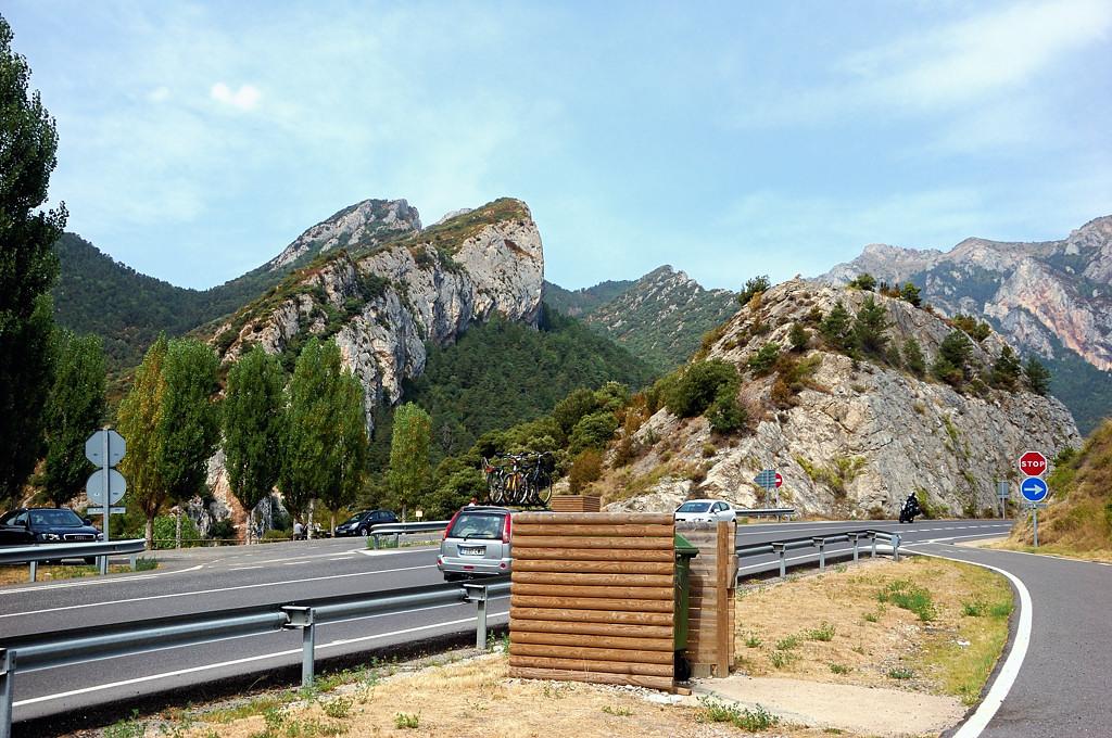 На горных дорогах севера Каталонии