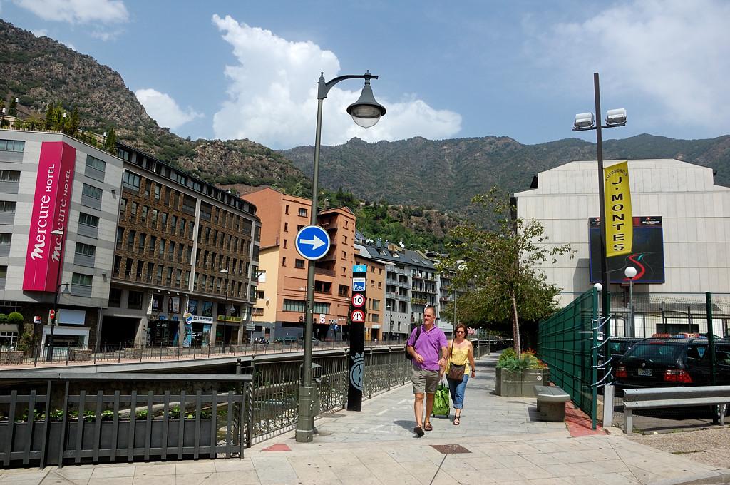 Андорра-ла-Велья. На улицах города