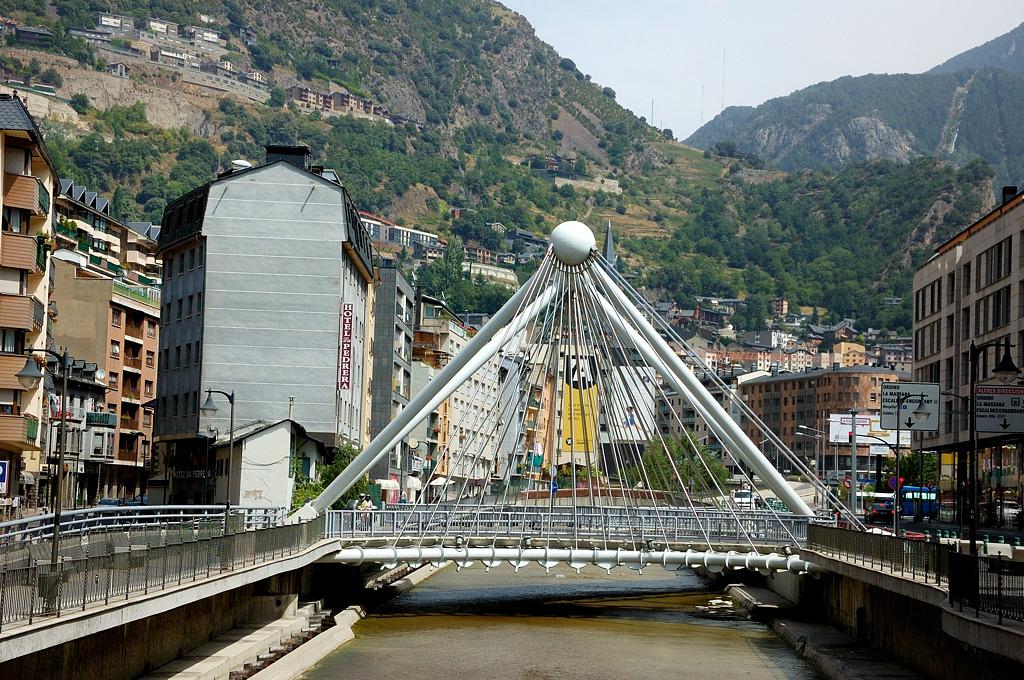 Андорра-ла-Велья. Вантовый мост