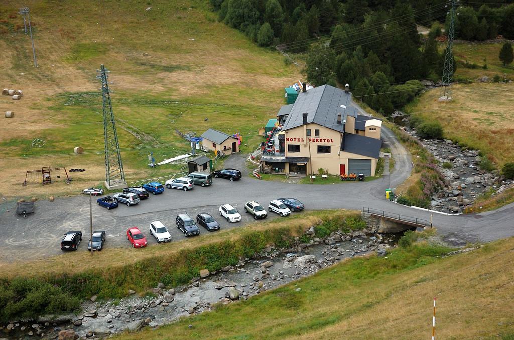 Гостиница в горах