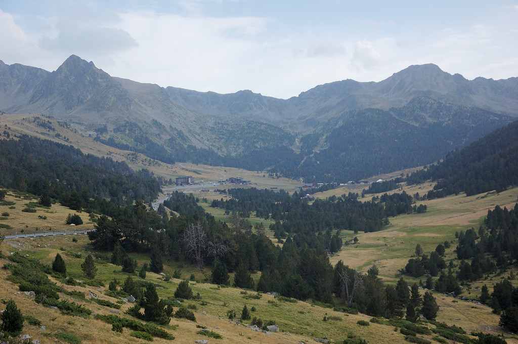 Горы на перевале д