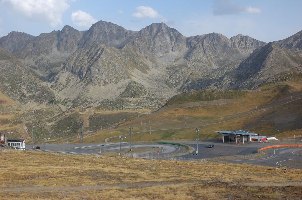 На перевале д