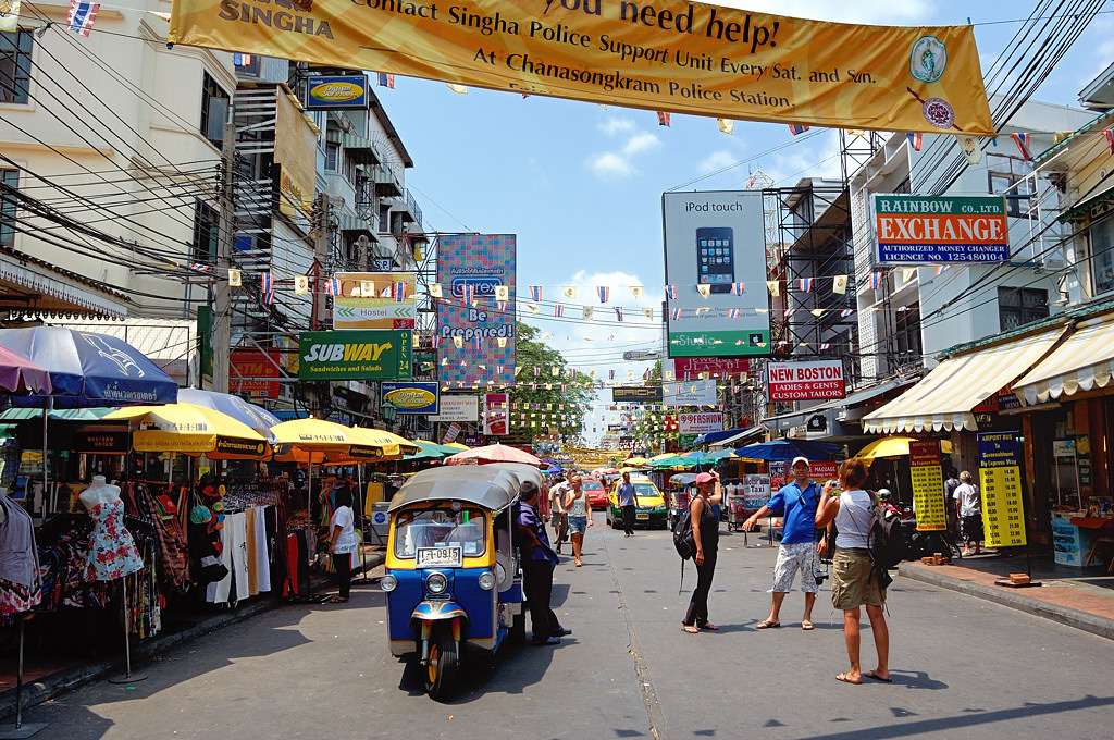 Легендарная улица Каосан-роуд