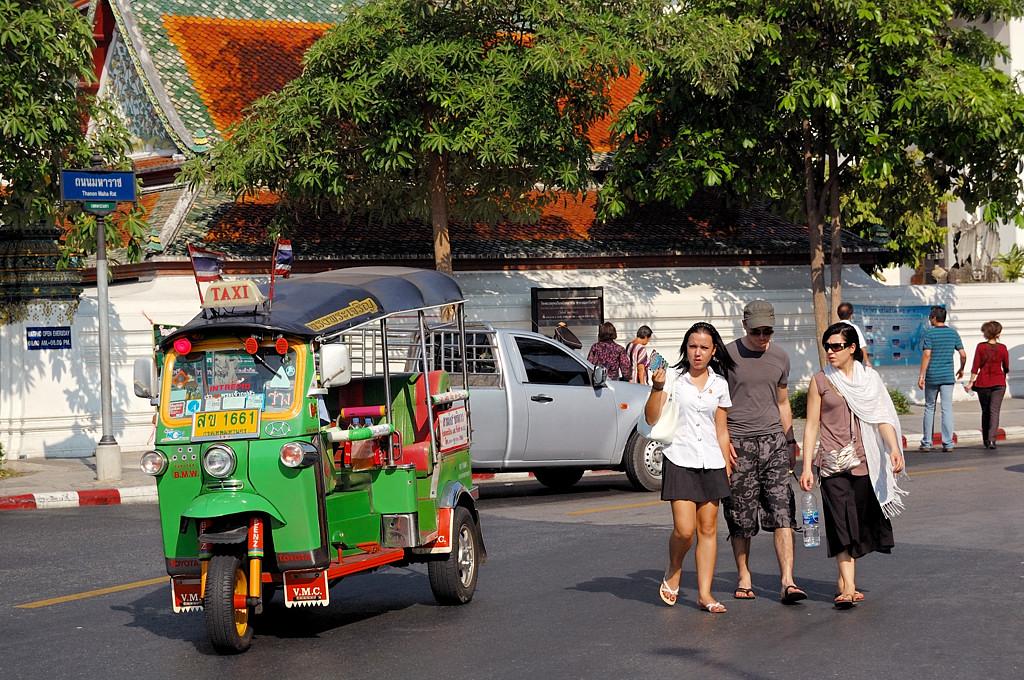 На улицах Бангкока. Тук-тук