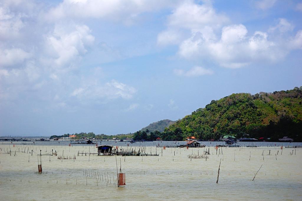 Рыбацкая инфраструктура на острове Ко Ё