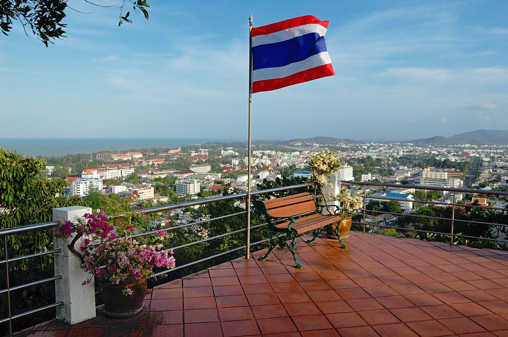 Вид на Сонгхла с самой высокой точки