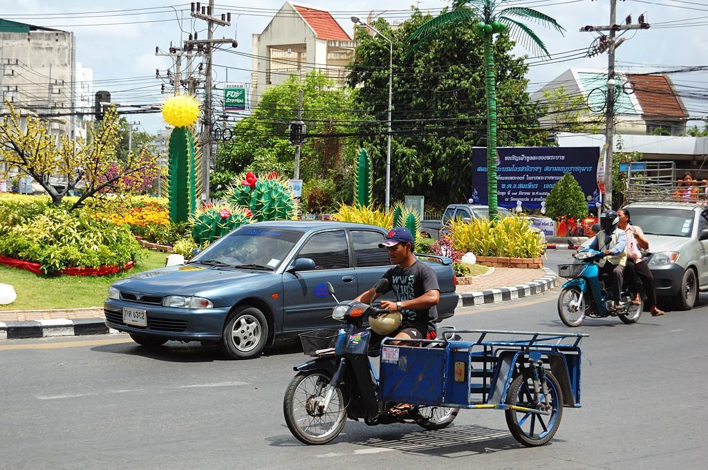 Тайский транспорт очень колоритен