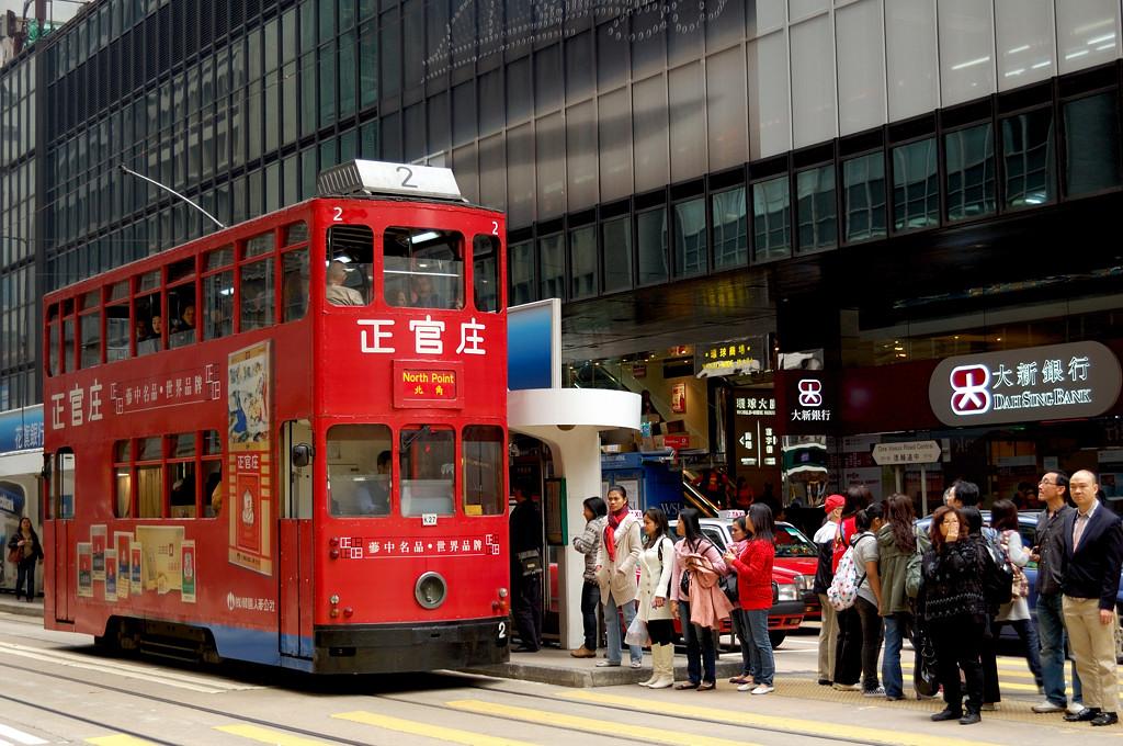 Двухэтажный трамвай