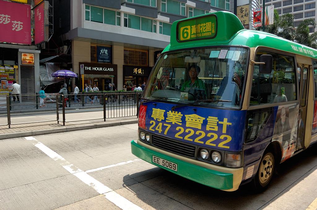 Автобус на Натан-роуд