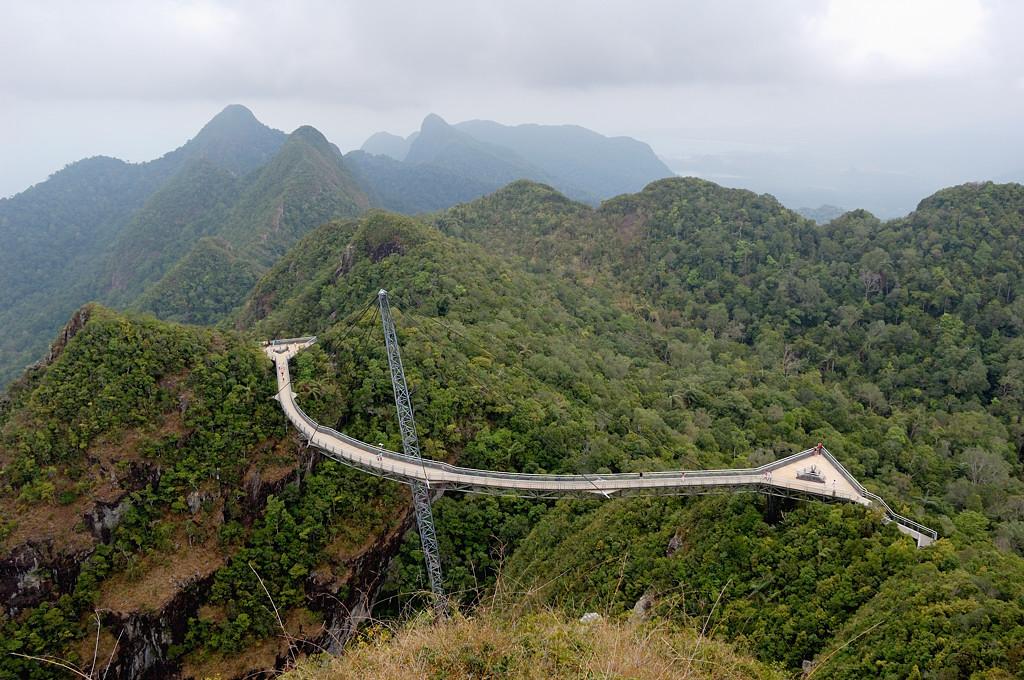 Мост на горе