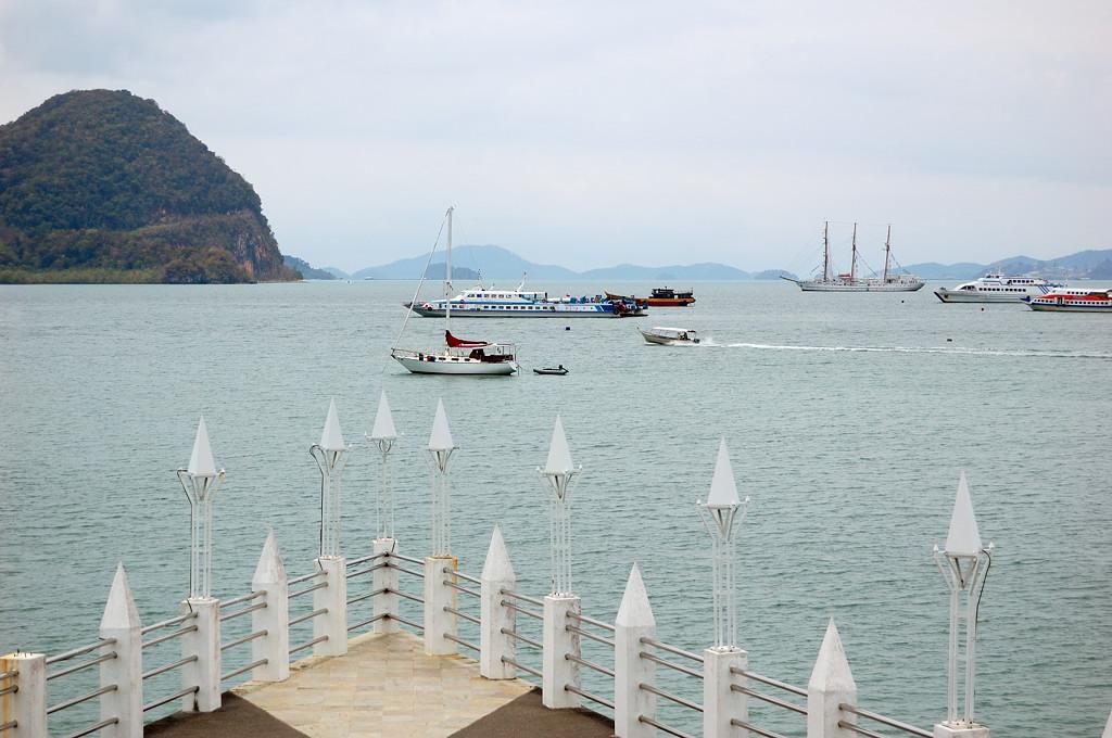 В порту Куа