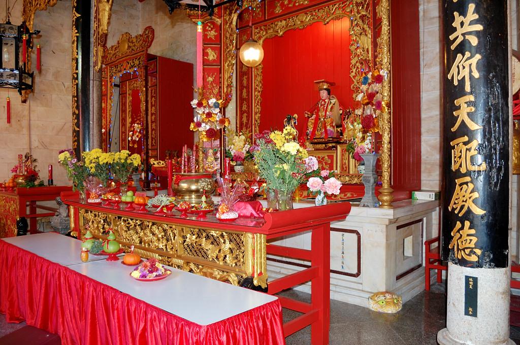 Джорджтаун. В китайском храме