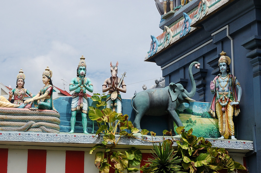 Храм Sri Srinivasa Perumal