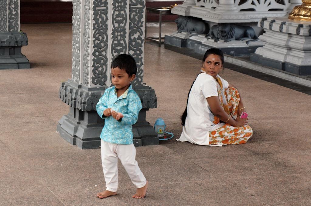 В индуистском храме