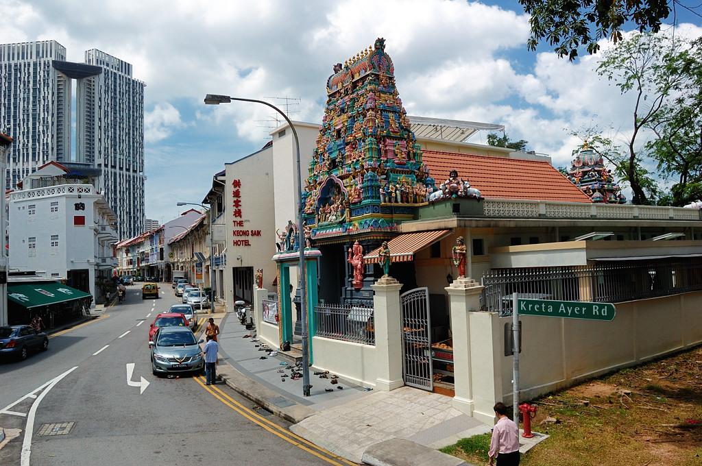 Еще один индуистский храм