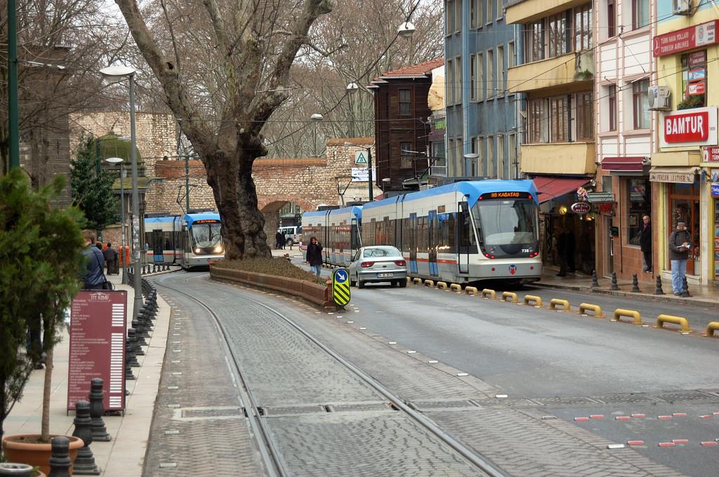 Стамбульский трамвай